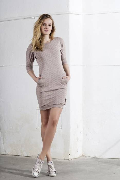 """PURE"" DRESS Powder  HONEYcomb / WOMAN"