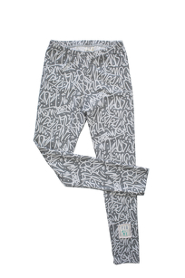 1951 / LEGGINGS / GRAY GRAFFITI