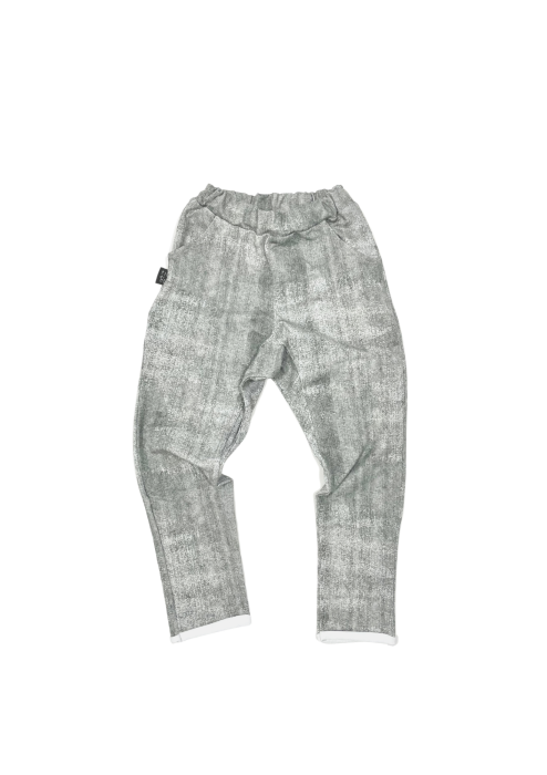 32-21 TROUSERS PATTERN / GRAY