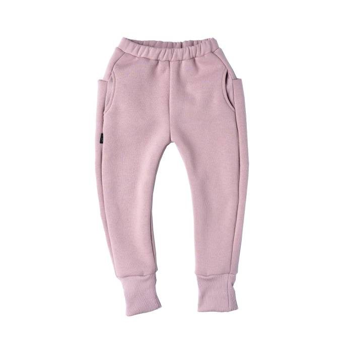 91-20 TROUSERS SKATE / soft pink