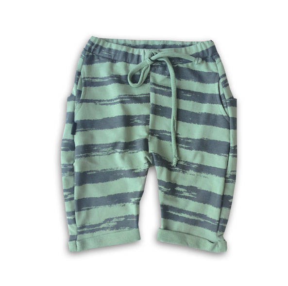 59-20 SHORTS SKATE / GREEN STRIPES