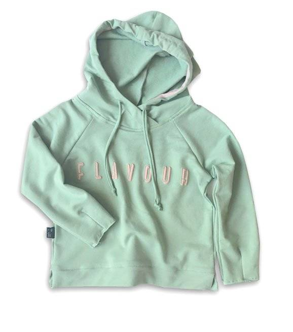 21-20 HOODIE / GREEN - flavour