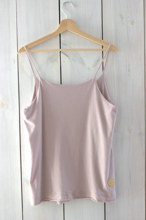 19-144* TOP with thin straps / ROSE