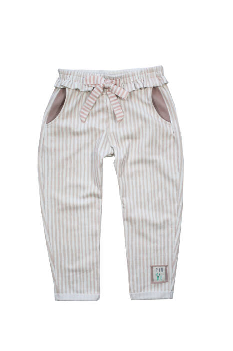 1947 /  TROUSERS wh bow / POWDER STRIPES