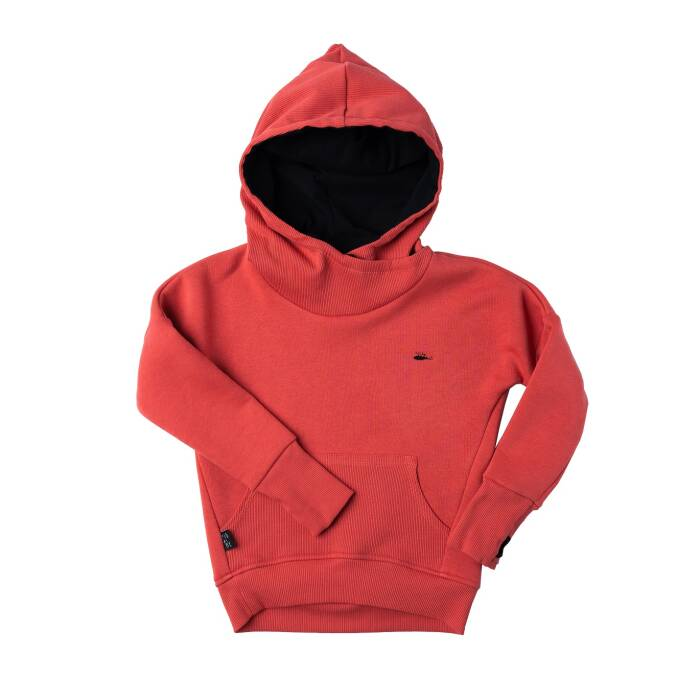 105-20 HOODIE / red stone
