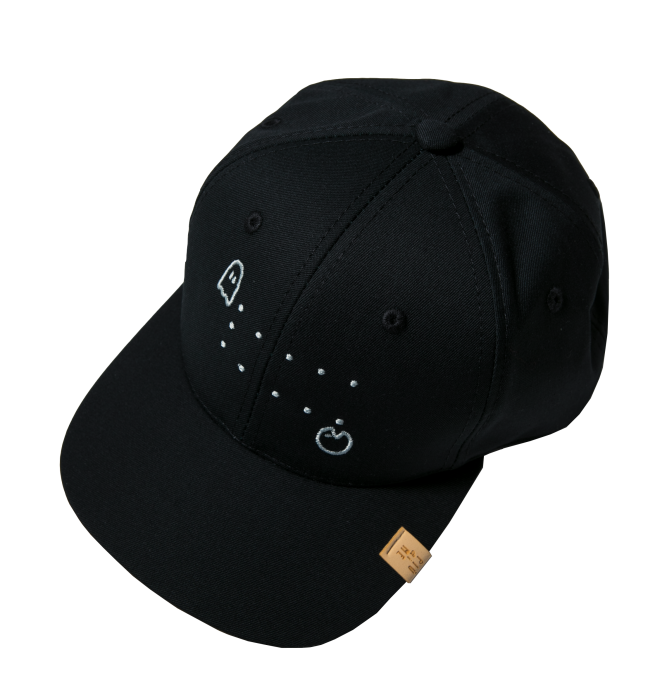 19-045 SNAP CAP BLACK / PAC-MAN