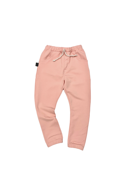 02-21 TROUSERS jogger / PEACH COLOR