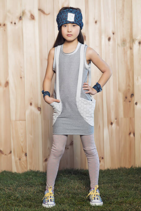 JT GIRL Dress / with suspenders