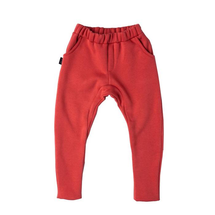 117-20 TROUSERS SKATE  / red stone