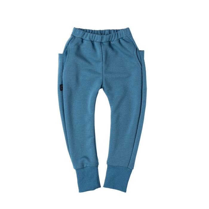 116-20 TROUSERS SKATE /blue stone