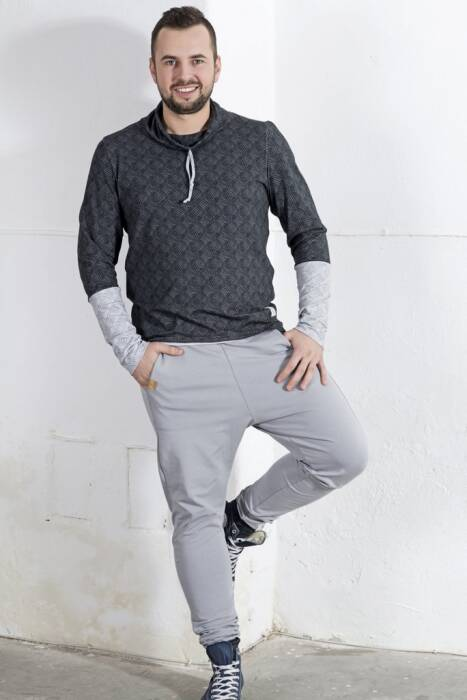 TROUSERS for MAN / color gray - SPODNIE MĘSKIE