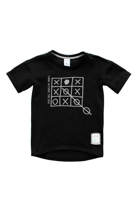 "1966 /  T-SHIRT ""the box"" /  BLACK"