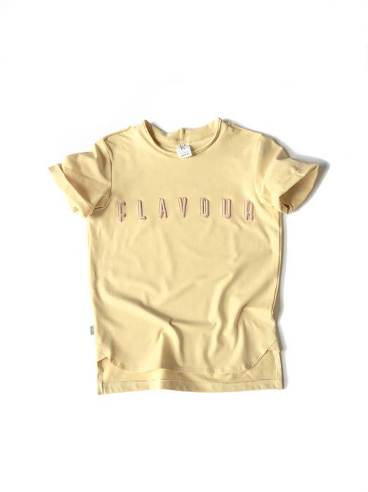 30-20 T-SHIRT / YELLOW - flavour