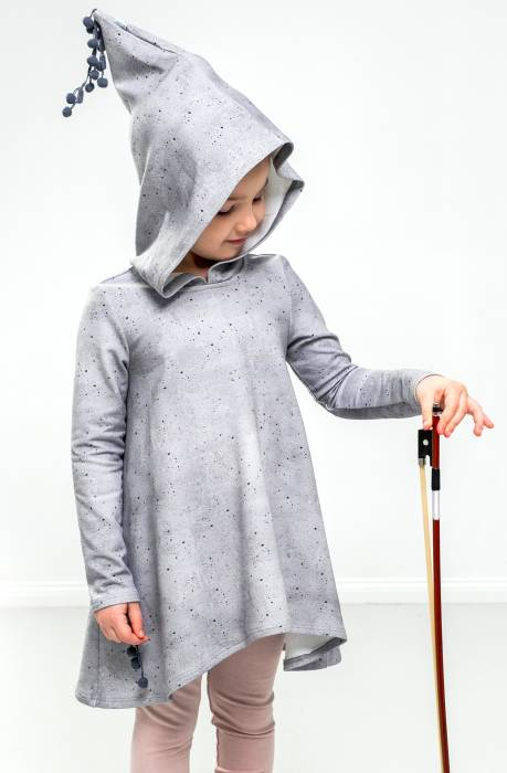 18-117 / FREEDOM DRESS wh hood / concrete