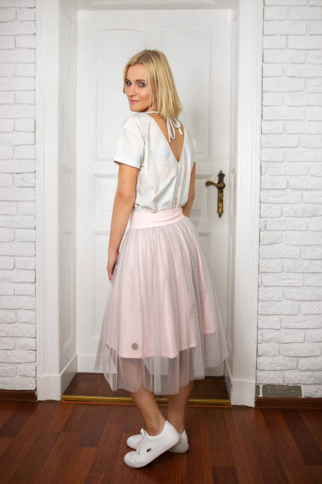 19-053 TULLES SKIRT  / WOMAN