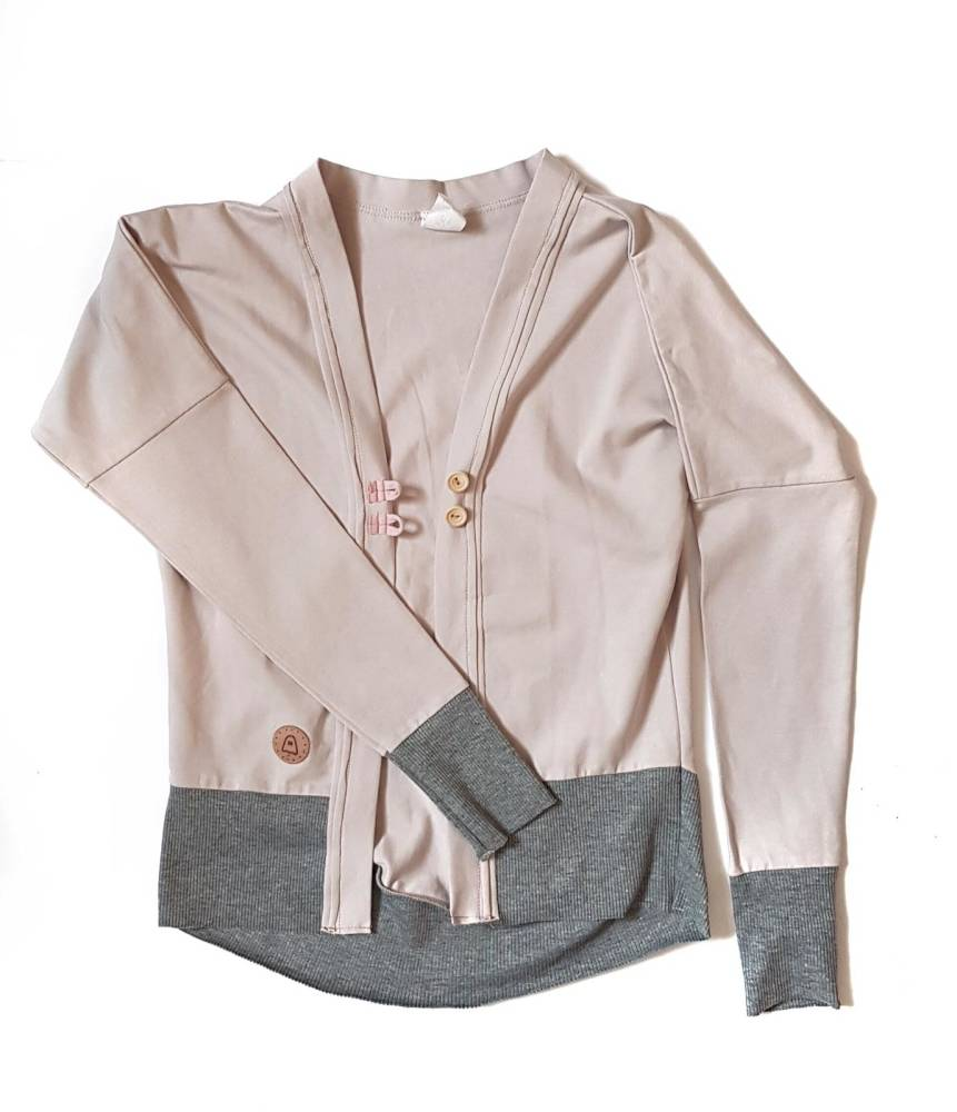 19-024 CARDIGAN / SOFT BEIGE
