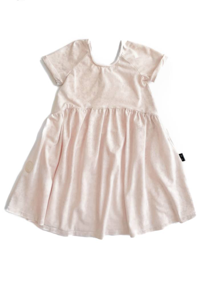 04-20 DRESS / SOFT PINK ACID