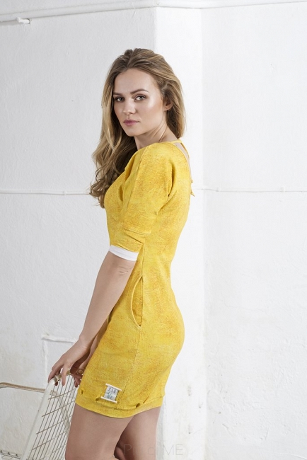 """PURE"" DRESS Gold SUNSHINE - Woman"