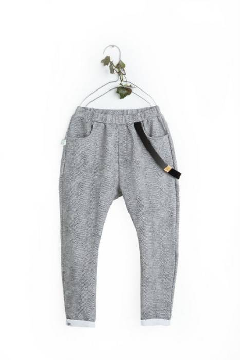 19-132 TROUSERS / herringbone