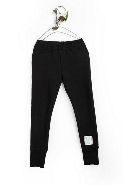 19-157 WOMAN LEGGINGS / BLACK